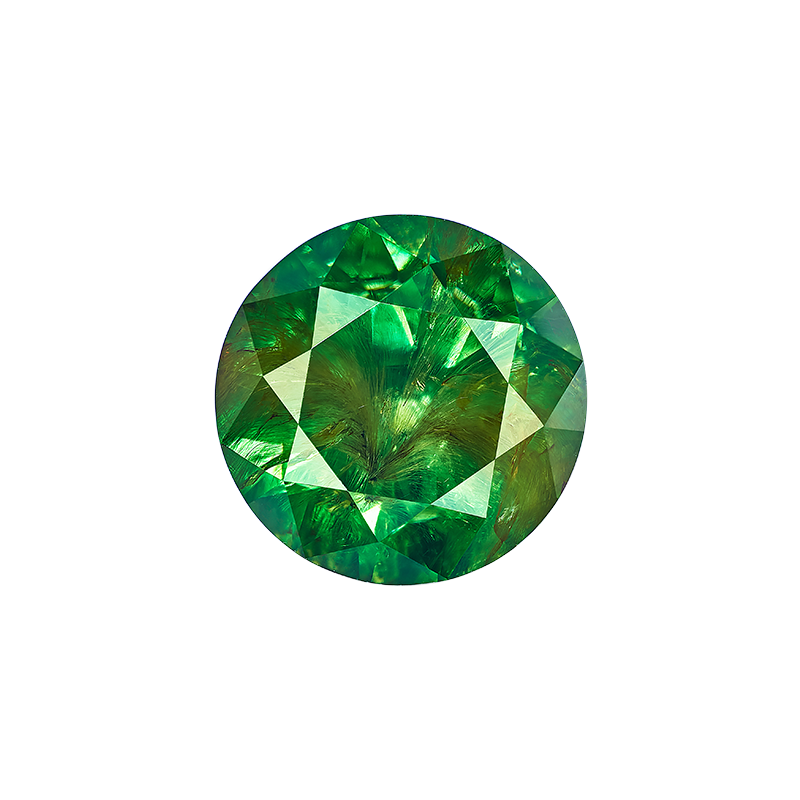 翠榴石裸石 5.26克拉