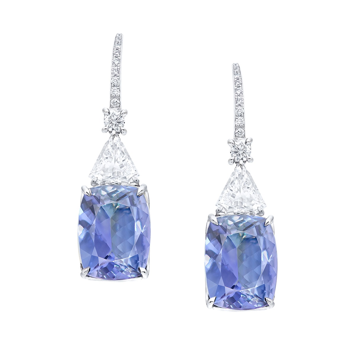 10.11克拉 丹泉石耳環