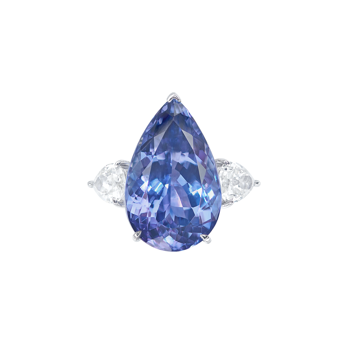 12.21克拉 丹泉石鑽戒