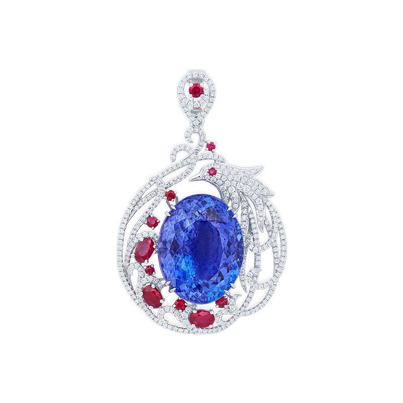 EGL 丹泉石鑽石掛墜 42.19克拉
