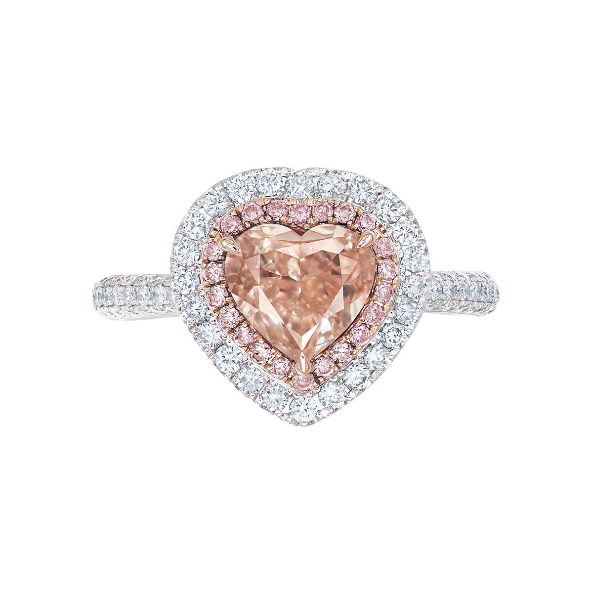 2.01克拉 粉棕鑽鑽戒