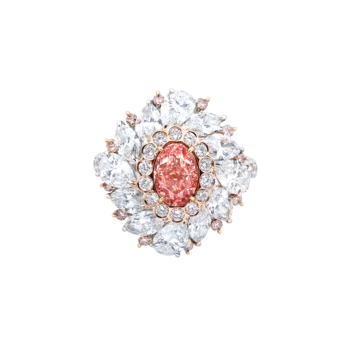 1.13克拉 ARGYLE阿蓋爾橘粉鑽鑽戒