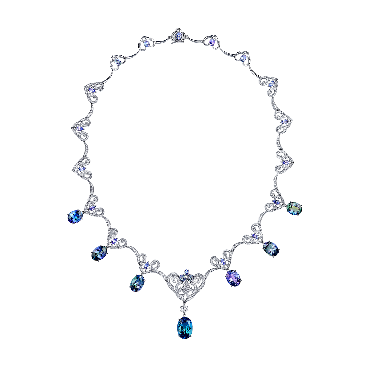 35.05克拉 丹泉石套鍊