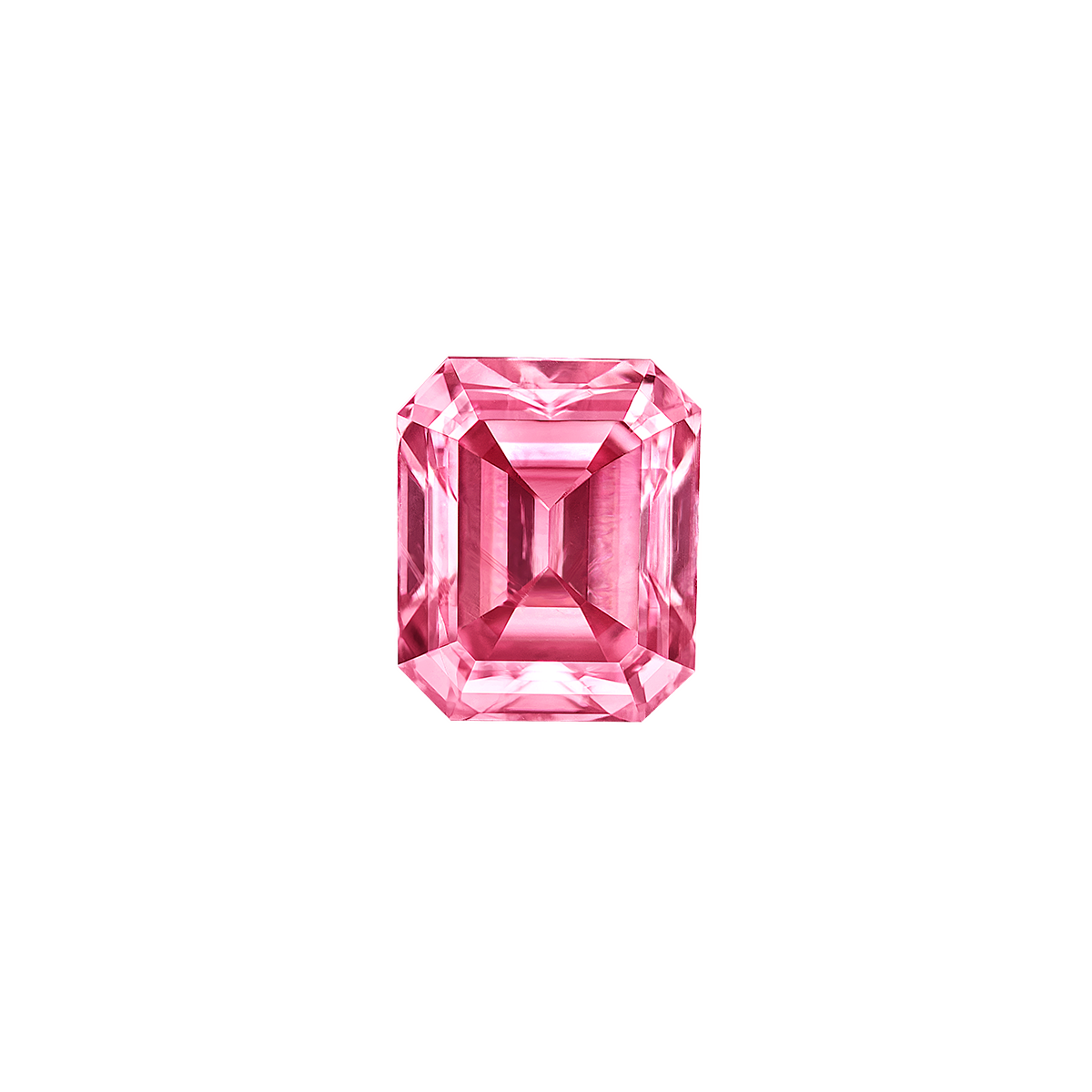 阿蓋爾濃彩粉彩鑽裸石