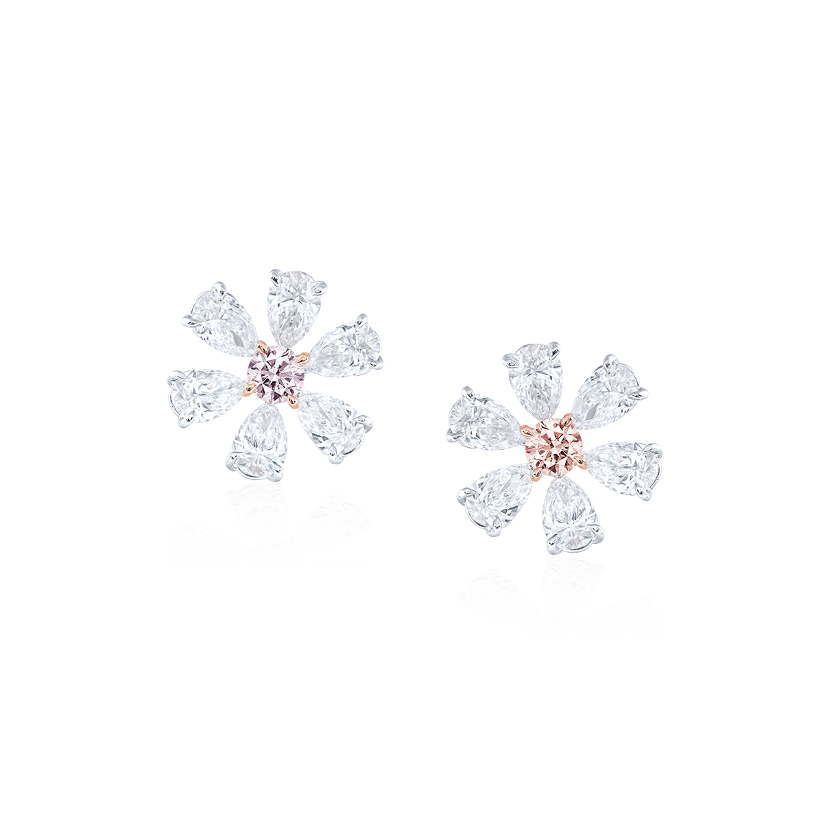 0.44克拉 ARGYLE阿蓋爾粉鑽耳環